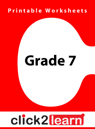 worksheet_grade7