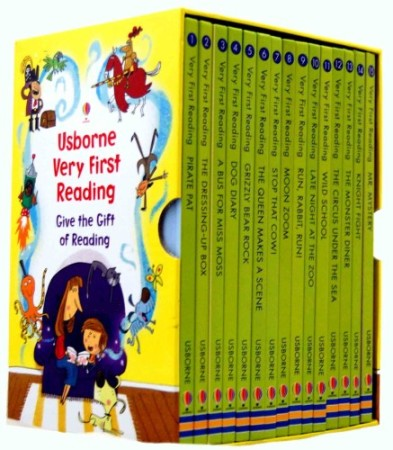 Usborne Very First Reading Book Set