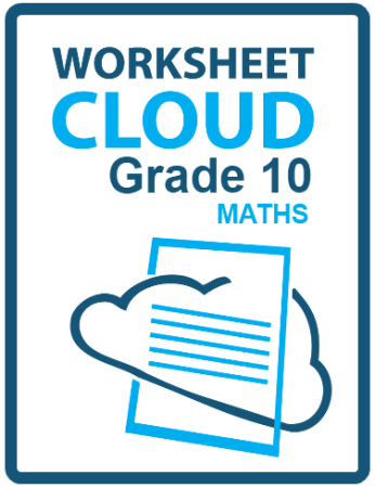 WorksheetCloud Grade 10 Maths