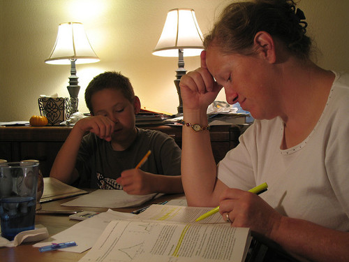 Parents and homework help